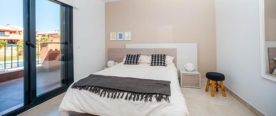 Slaapkamer van koopvakantiehuis in Elche