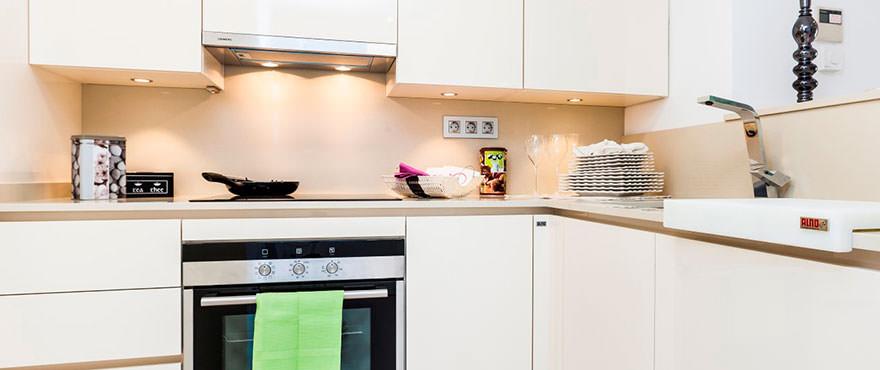 Moderne en open keuken met kwaliteitsafwerking