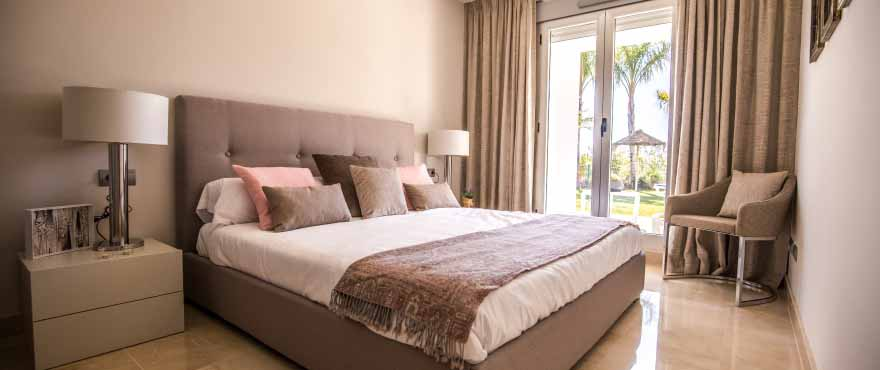 Bedroom, Apartments for sale, apartments in Costa del Sol, Marbella, Elviria, 2 and 3 bedrooms