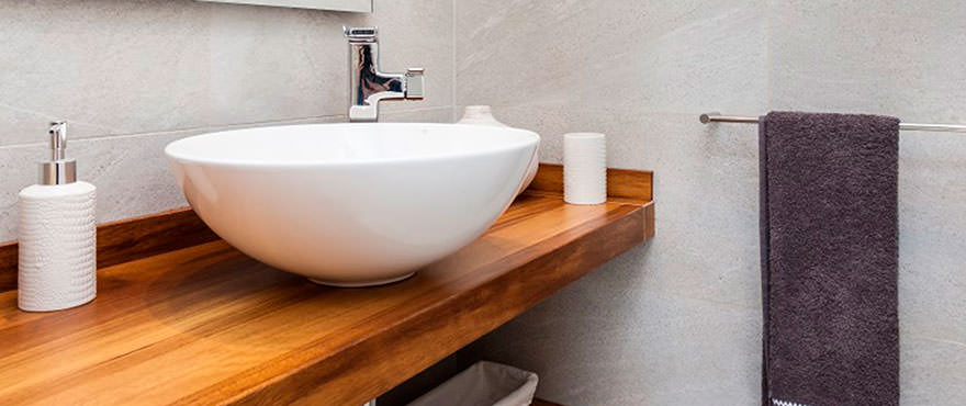 Bathroom, high quality finishes in Camp de Mar Beach, Puerto Andratx