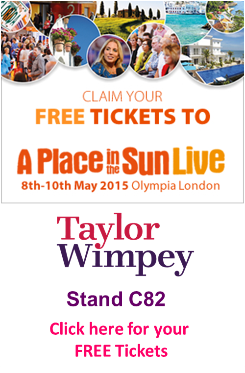 Free tickets. Visit us at stand C82