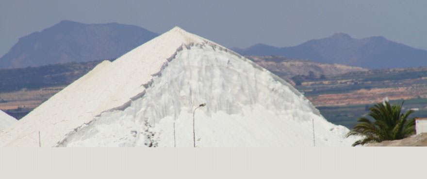 Zoutmijnen, dichtbij de woningen van La Recoleta