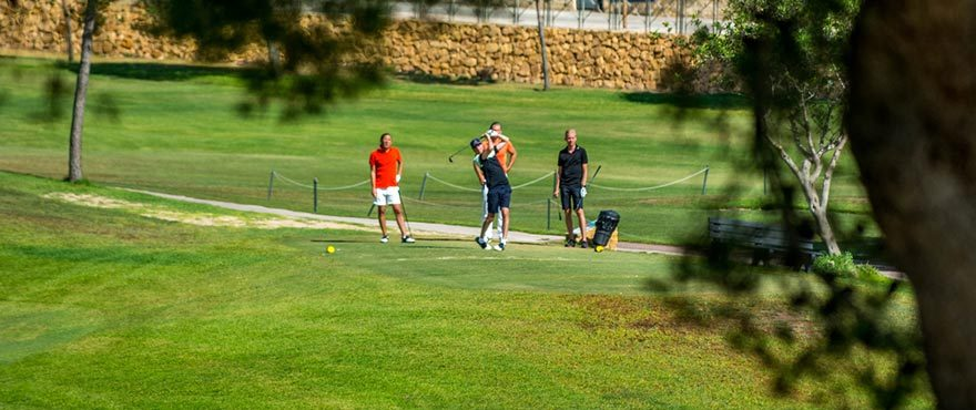 Townhouses in Elche, Alicante: Golf course