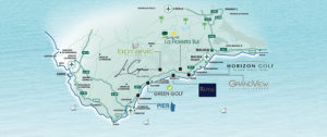 MAP of the homes from Taylor Wimpey Spain on the Costa del Sol