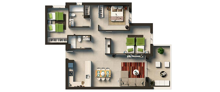 3 slaapkamers Torrevieja