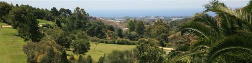 Costa Sol: natur. Sol och golf