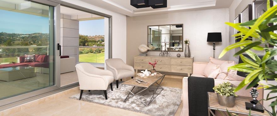 Salón, Miraval, Apartamentos en venta, Costa del Sol