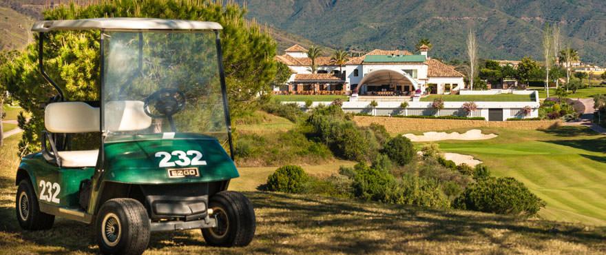 Golf y vacaciones muy cerca de Málaga