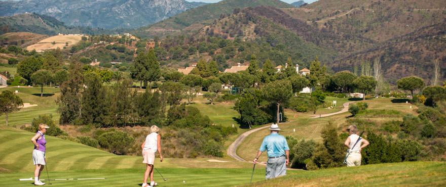 Geweldige golfmogelijkheden in Mijas. Miraval - twee- en drieslaapkamerappartementen naast de golfbaan