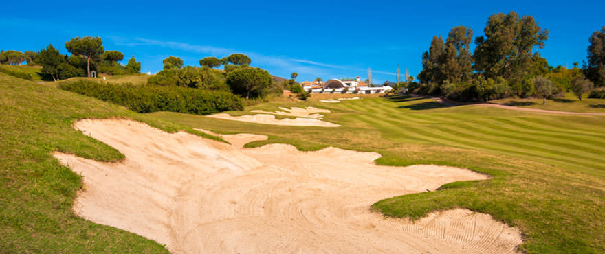 Golf views in Mijas. Miraval - 2 & 3 bedroom apartments next to the golf