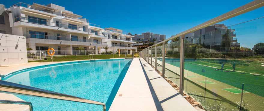 Gemeenschappelijk zwembad & tuinen, Miraval, Mijas