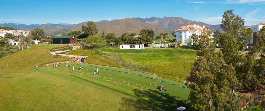 Miraval, atractivo entorno con golf, Mijas
