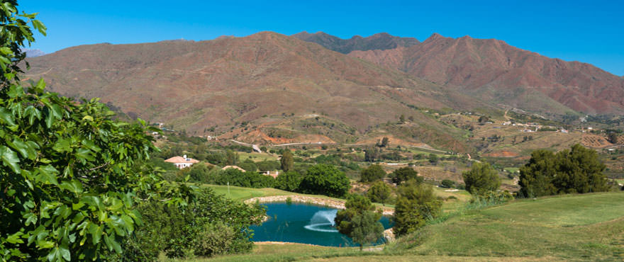 Golf i La Cala Golf Resort - Lägenheter med 2 & 3 sovrum till salu, precis intill golfen