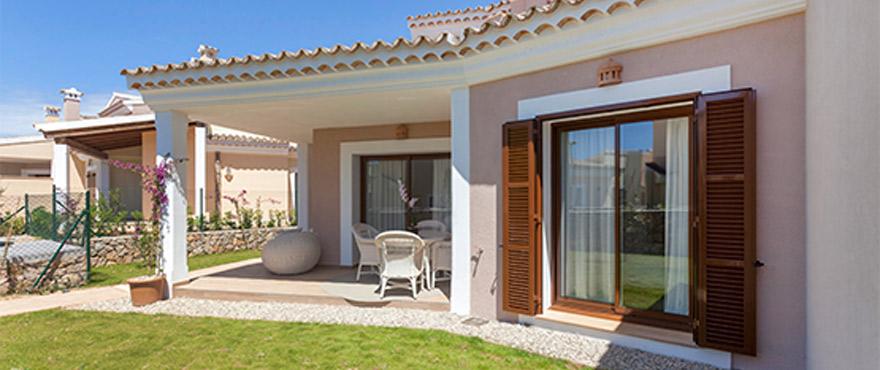 Terrasse mit Garten, Marina Golf, Mallorca