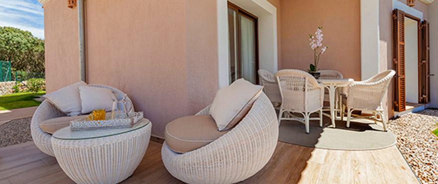 Dit nieuwe dorp in mediterrane stijl bestaat uit ruime 3 – 4 slaapkamerwoningen met privéterrassen
