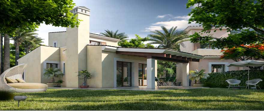 Townhouses with direct access to the golf of Santa Ponsa