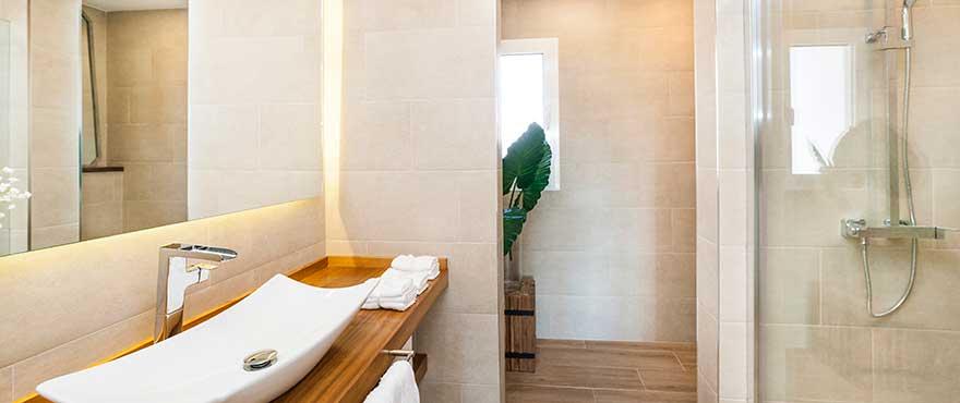 Badezimmer, Wohnanlage Marina Golf