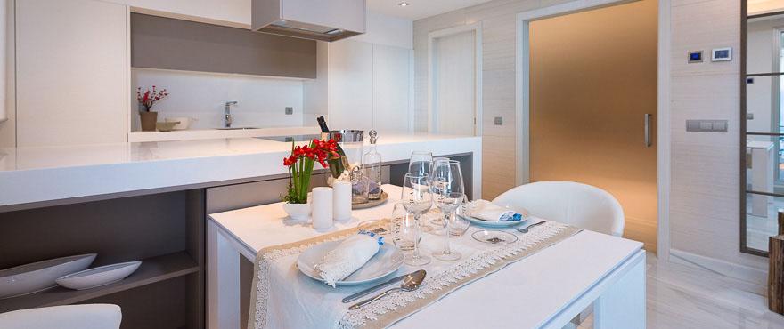 Esszimmer, Apartments zu verkaufen in Jade Beach, Marbella
