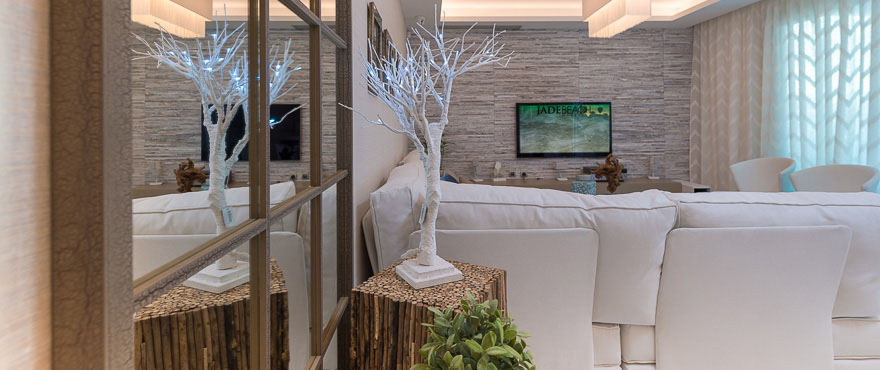 Fine details in the modern apartments in Jade Beach, Marbella.
