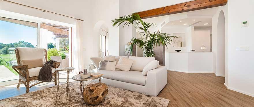 Luminous living room, Marina Golf, Nova Santa Ponsa, Mallorca