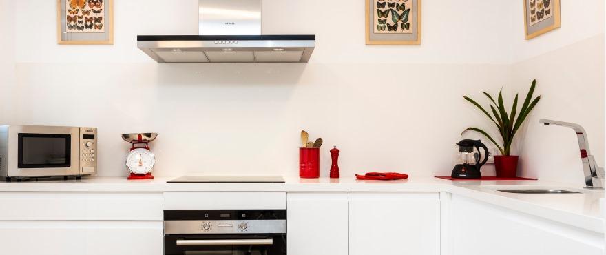 Eiendommene er alle bygget etter aller høyeste standard, med overflater som leveres i designermaterialer og -merker.
