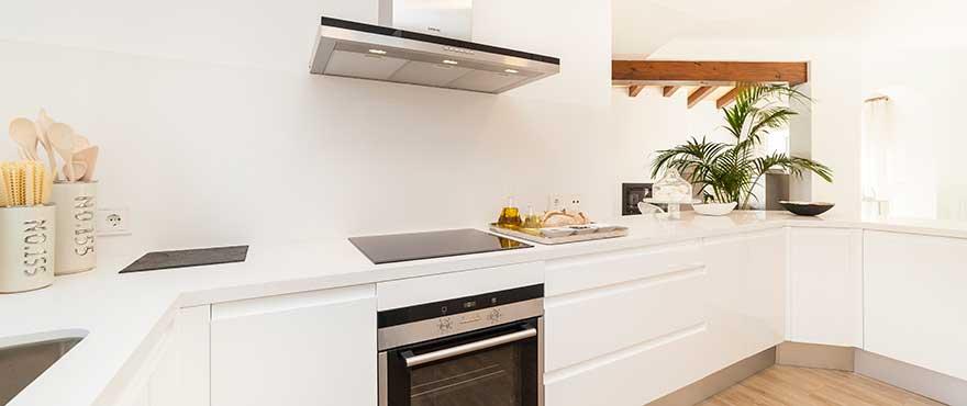 Küche, Wohnanlage Marina Golf
