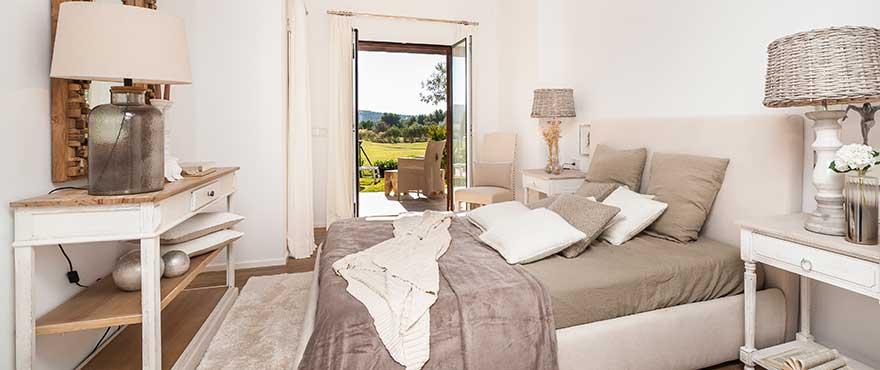 Schlafzimmer, Wohnanlage Marina Golf