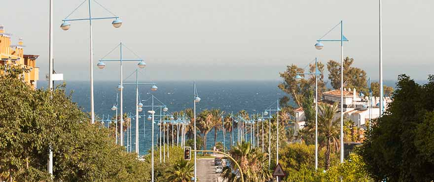 Cadre, Jade Beach, Marbella