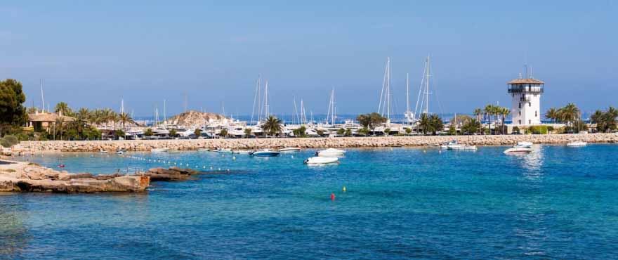 Calvia harbour, Mallorca.
