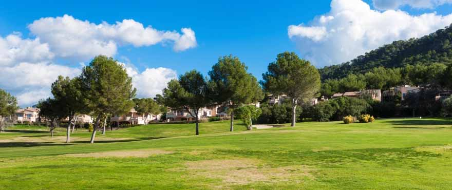 Umgebung der Wohnanlage Marina Golf