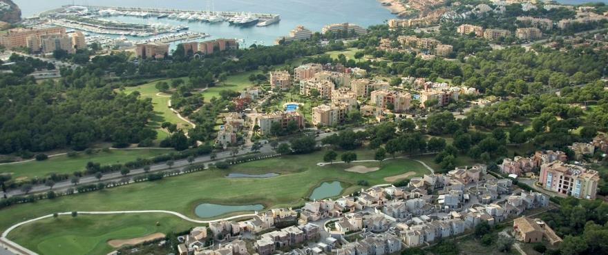 Novo Santa Ponsa: Golf and sea
