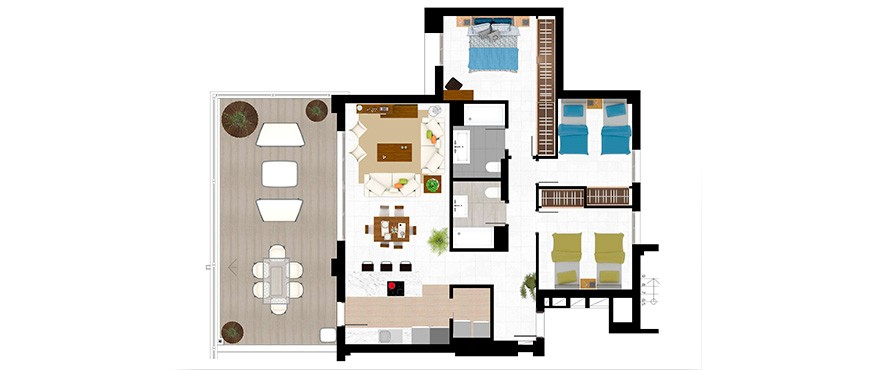 Plan 3 bedroom