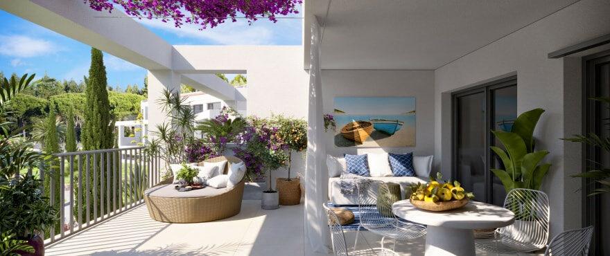 Nuevos apartamentos con amplias terrazas en Canyamel