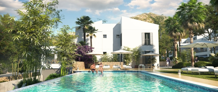 Canyamel Pins, new apartments with communal pool in Majorca