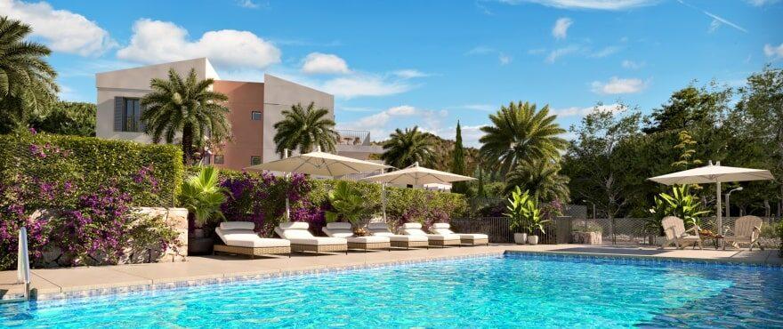 Canyamel Pins, nuevos apartamentos con piscina comunitaria en Mallorca