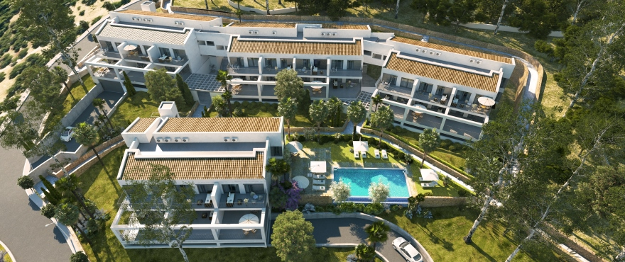 Canyamel Pins, new 2- and 3-bedroom apartments in Canyamel, Capdepera