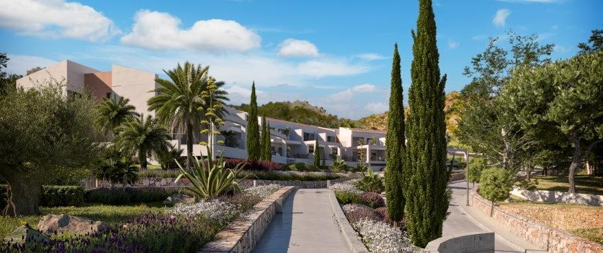 Canyamel Pins, nuevos apartamentos con jardín comunitario en venta en Mallorca