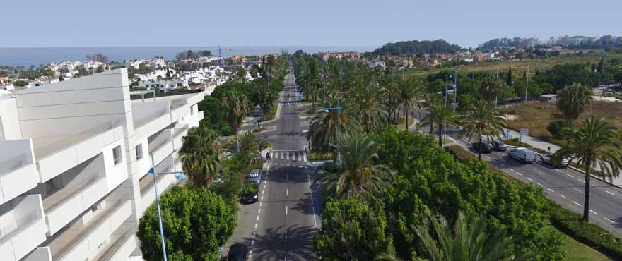 Green zone of San Pedro de Alcantara, Marbella