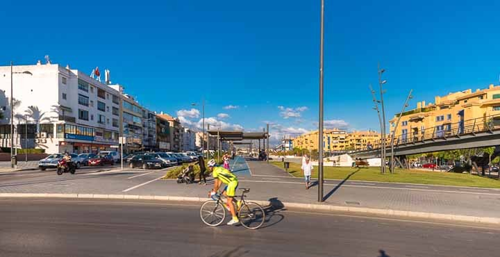 Cycle lane - San Pedro de Alcantara, Marbella