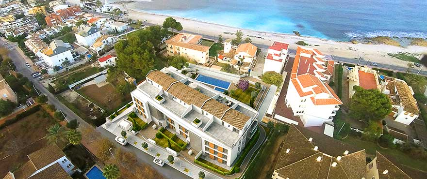 Apartments very close to the beach Jardin del Mar, Javea