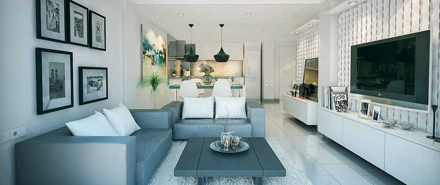 Living room, Jardin del Mar