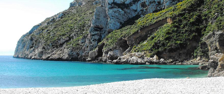 Badebucht Cala Granadella