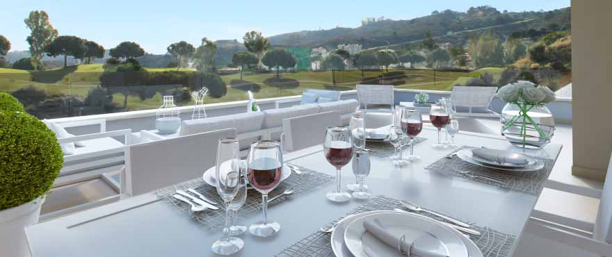 Horizon Golf Apartments - Terrasse