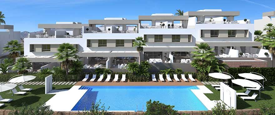 Casas adosadas en venta en La Cala Resort, Mijas