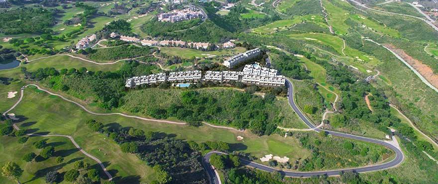 Panoramautsikt över golfbanan på Horizon Golf, La Cala Golf Resort