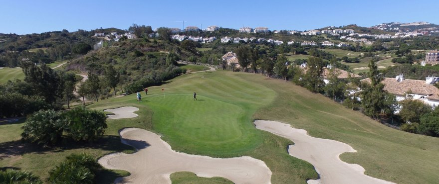 Panoramic views from Horizon Golf. MIjas
