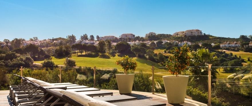 La Cala Golf Resort, MIjas: fantastisk utsikt over golfbanen og kyststripen