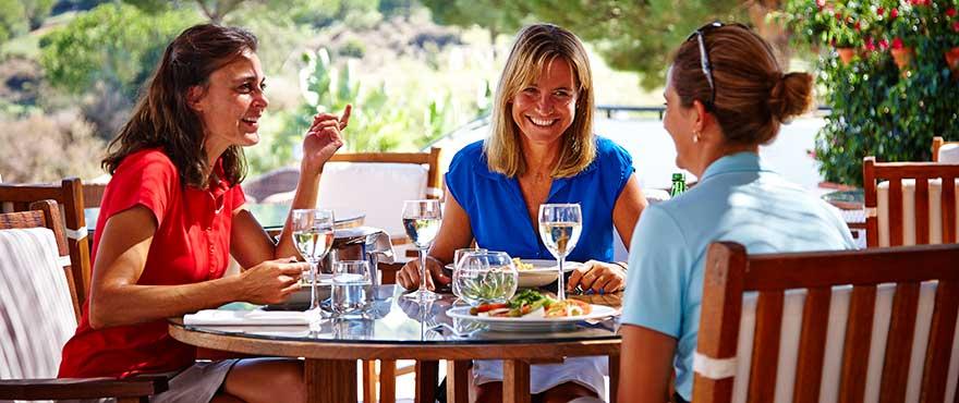 Restaurant gastronomique à La Cala Resort, Mijas
