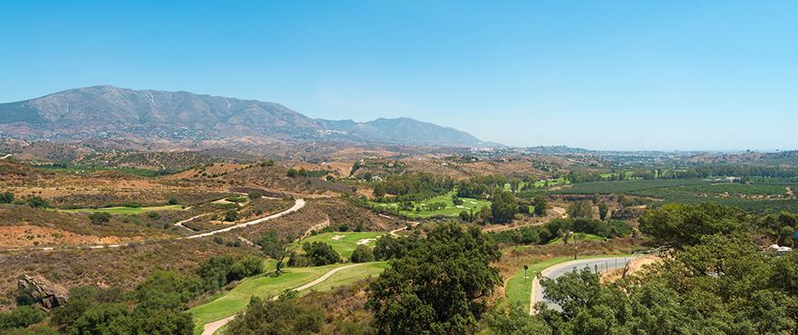 Golf junto a las nuevas viviendas en venta de Horizon Golf: apartamentos y adosados