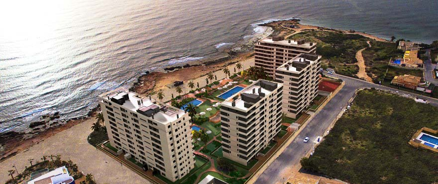 Panorama Mar, Punta Prima, Torrevieja: new apartments with sea views